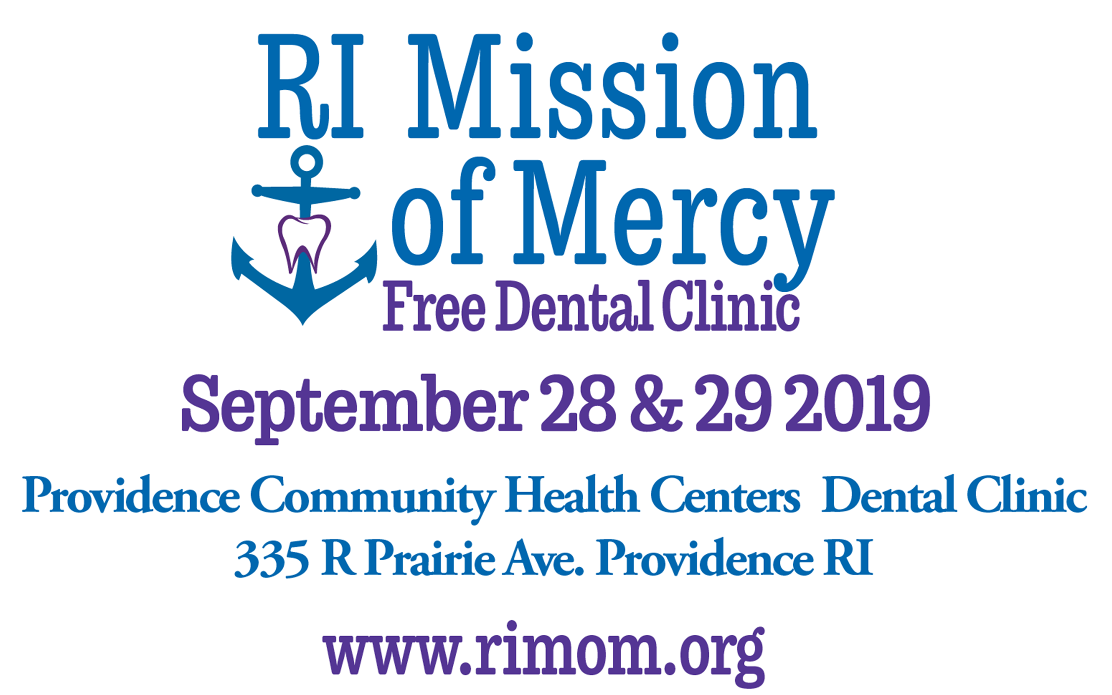 RI Mission of Mercy